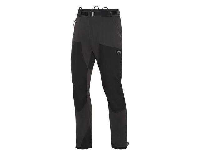 Directalpine Mountainer Tech Pantalones Hombre, negro/gris